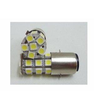 LED LAMP WIT voor Vespa LX koplamp 12V-35/35W BA20