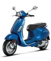 Voorspatbord vespa sprint blauw azzurro 261/a piaggio origineel 67364400dq