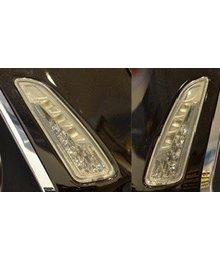 Vespa Primavera / Sprint LED knipperlichtset voorkant met dagrijverlichting DMP