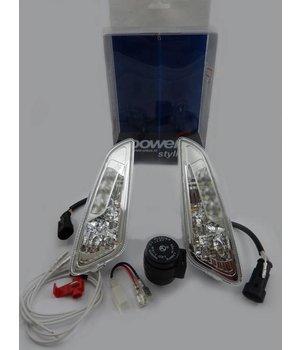 Vespa Primavera/Sprint LED knipperlichten met dagrijverlichting