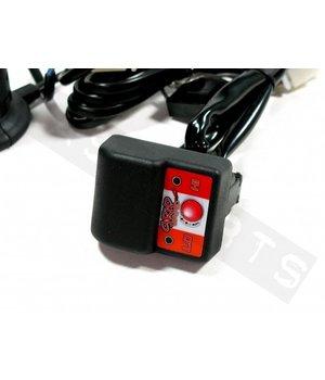Handvatset power1 met verwarming zwart