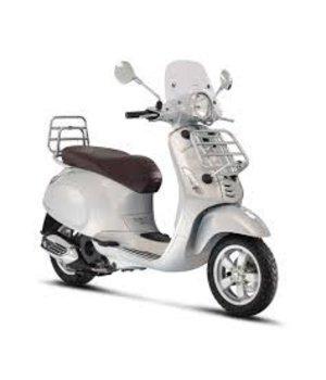 Scooter 25km primavera touring zilver grigio seta