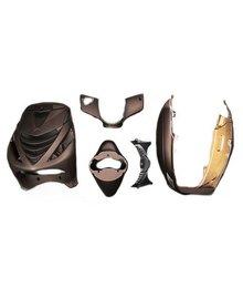 Kappenset zip 2000 mat bruin front cover van zip sp c25