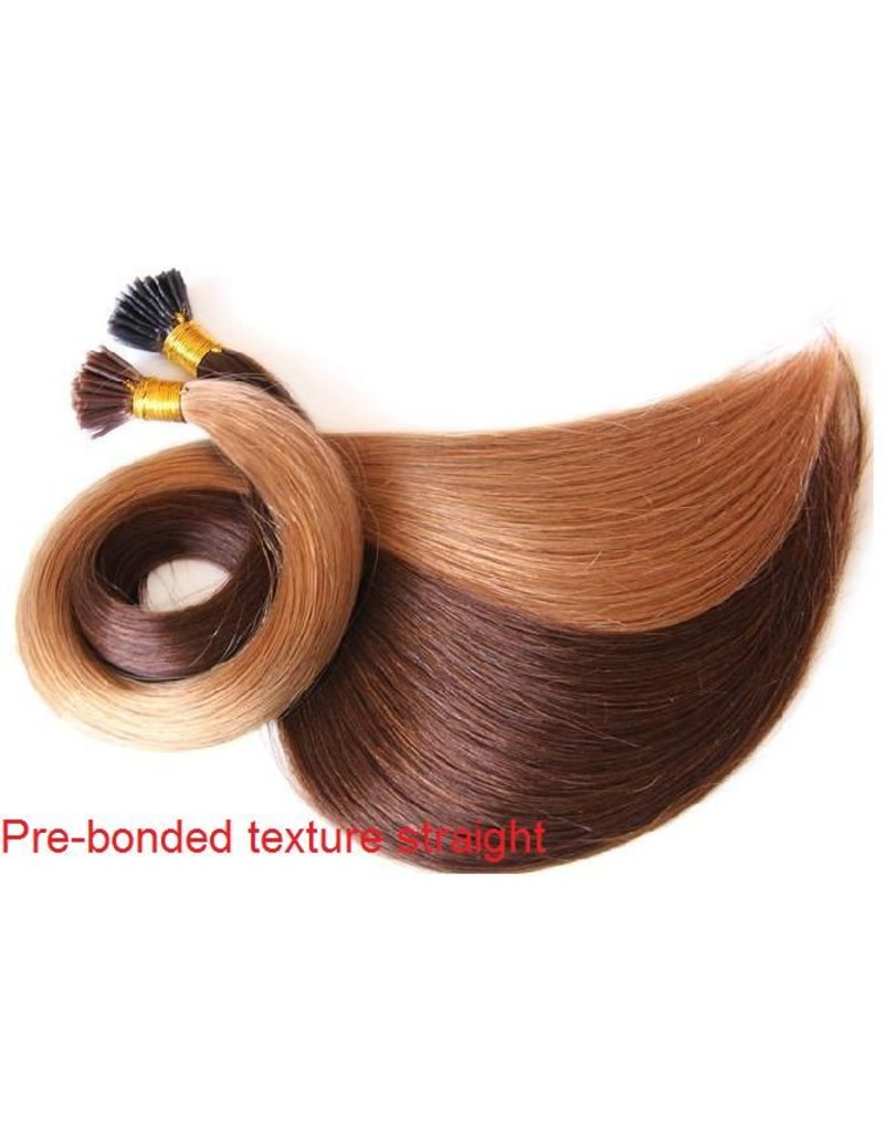 Flat-tip extensions #2 Donkerbruin