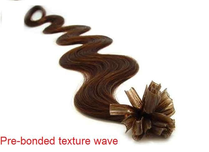 V-tip extensions #6 Hazelnoot bruin