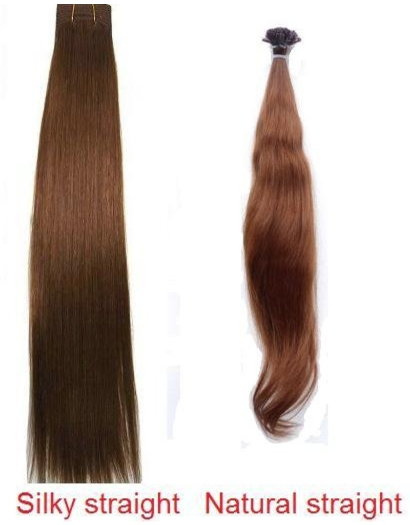 Clip-in extensions #2 Donkerbruin