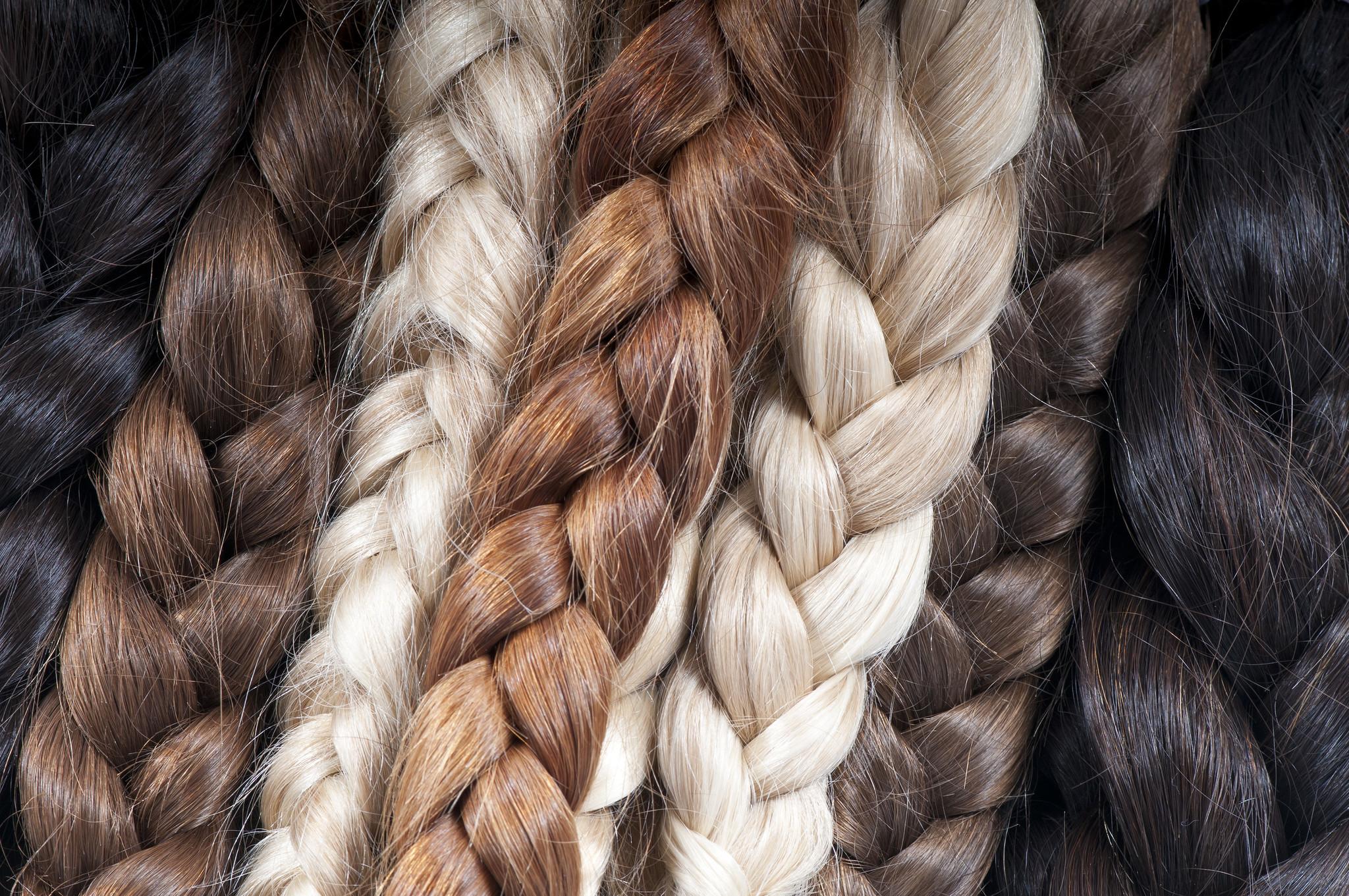 Haarwensen haar doneren vlechten