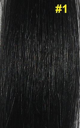 Hairextensions kleur #1 Gitzwart