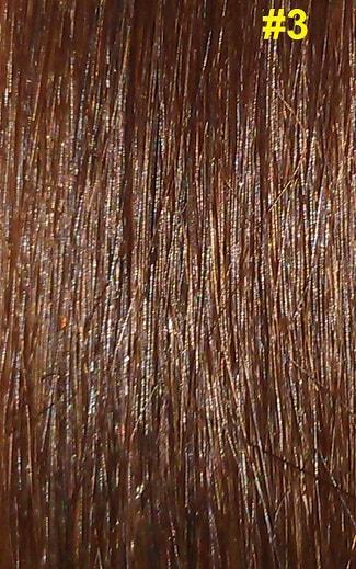 Hairextensions kleur #3 bruin