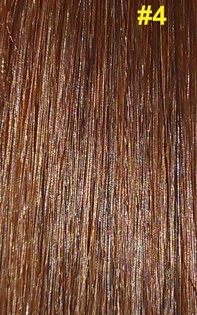 Hairextensions kleur #4 chocolade bruin