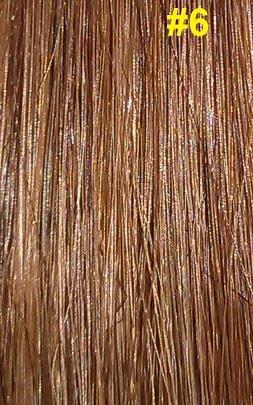 Hairextensions kleur #6 hazelnoot bruin