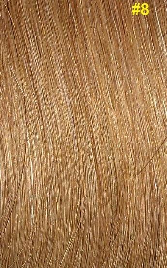 Hairextensions kleur #8 donker honingblond