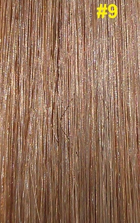 Hairextensions kleur #9 donker asblond