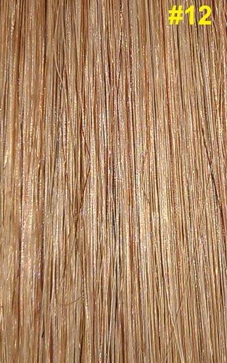 Hairextensions kleur #12 goud/as bruin