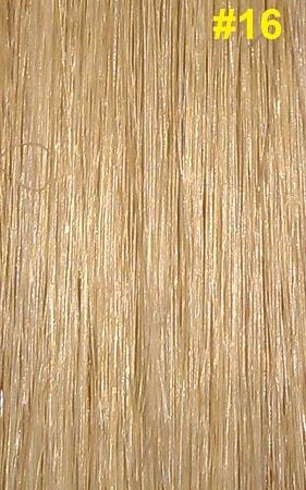 Hairextensions kleur #16 asblond