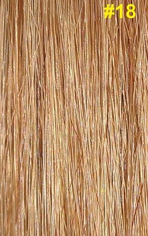 Hairextensions kleur #18 lichtbruin