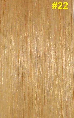 Hairextensions kleur #22 natuurlijk lichtblond