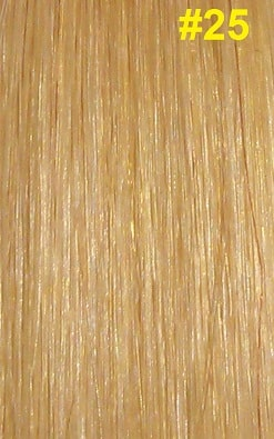 Hairextensions kleur #25 warm blond