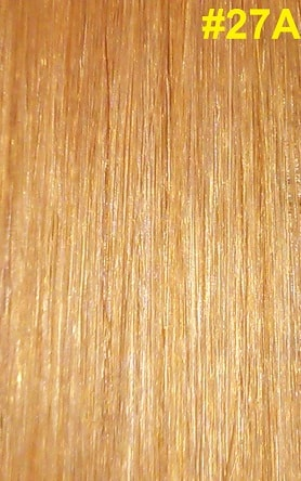 Hairextensions kleur #27A Warm honingblond