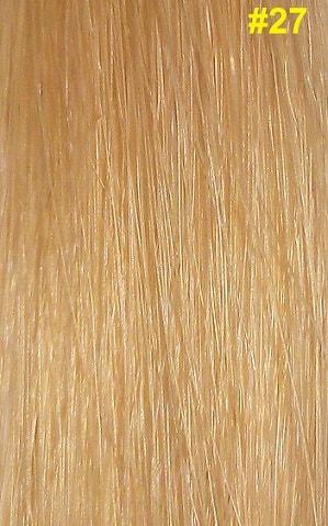 Hairextensions kleur #27 honingblond