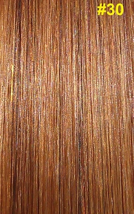 Hairextensions kleur #30 kastanjebruin