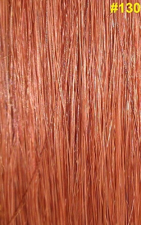 Hairextensions kleur #130 koperbruin