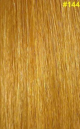 Hairextensions kleur #144 geel