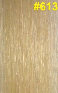 Hairextensions kleur #613 lichtste blond