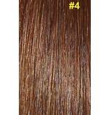 Hair weave #4 Chocolade bruin