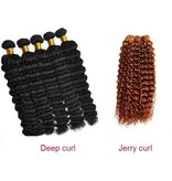 Hair weave #12 Goud/Asbruin