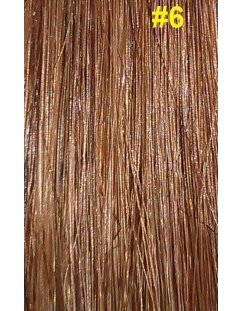 Clip-in extensions #6 Hazelnoot bruin