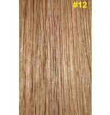 Clip-in extensions #12 Goud/asbruin