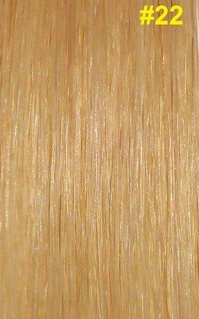 Clip-in extensions #22 Natuurlijk licht blond
