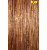 Clip-in extensions #30 Kastanjebruin