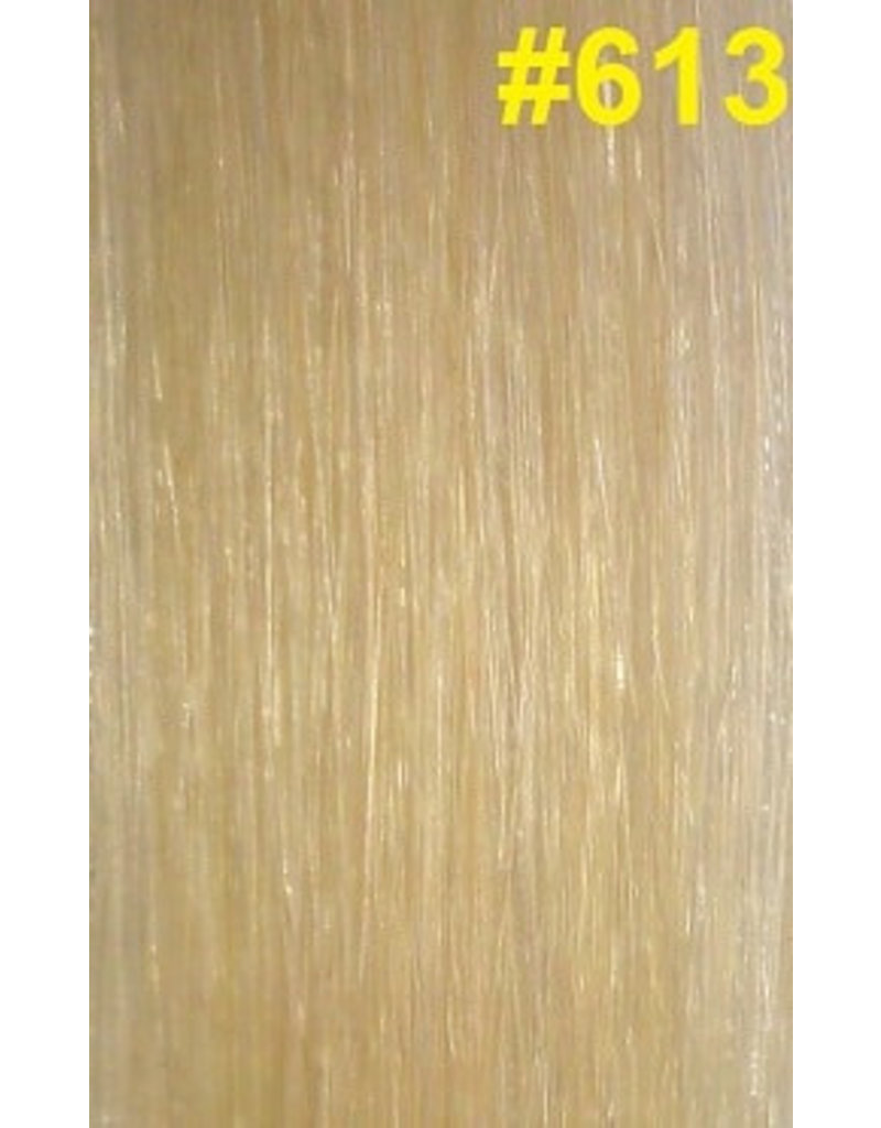Clip-in extensions #613 Lichtste blond