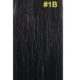 V-tip (wax) extensions #1B Natuurlijk zwart