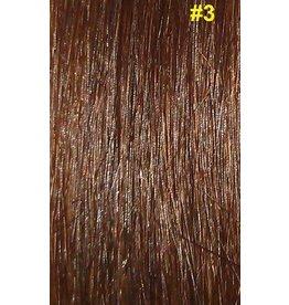 V-tip (wax) extensions #3 Bruin