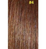V-tip extensions #4 Chocolade bruin