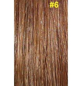 V-tip (wax) extensions #6 Hazelnoot bruin