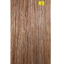 V-tip (wax) extensions #9 Donker asblond