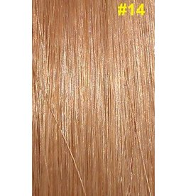 V-tip (wax) extensions #14 Donkerblond