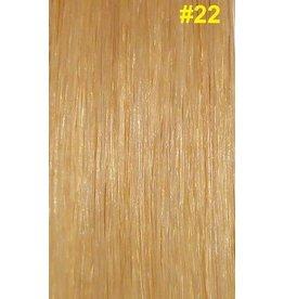 V-tip (wax) extensions #22 Natuurlijk lichtblond