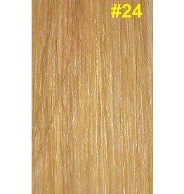 V-tip (wax) extensions #24 Natuurlijk blond