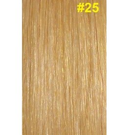 V-tip (wax) extensions #25 Warm blond
