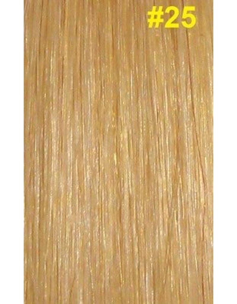V-tip extensions #25 Warm blond