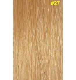 V-tip (wax) extensions #27 Honingblond