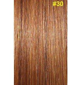 V-tip (wax) extensions #30 Kastanjebruin