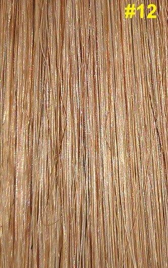 Nail-tip extensions #12 Goud/Asbruin