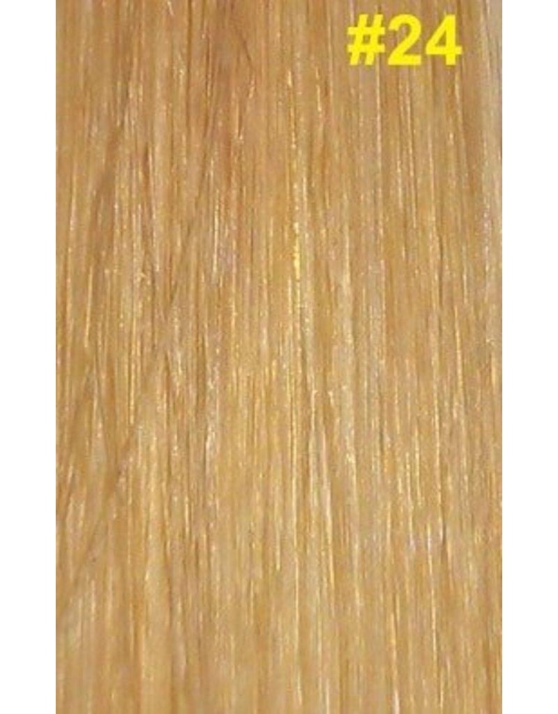 Flat-tip extensions #24 Natuurlijk blond