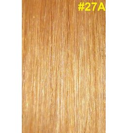 Flat-tip extensions #27A Warm honingblond